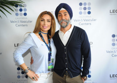 Golrice and Hardeep Ahluwalia