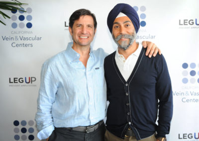 Chris Raniere and Hardeep Ahluwalia