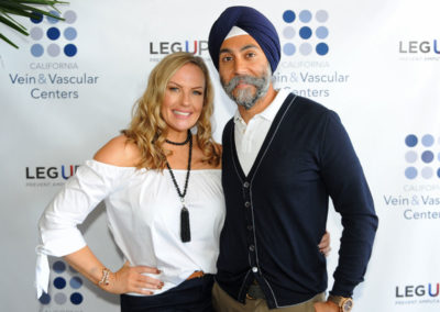 Sinead Norenius and Hardeep Ahluwalia