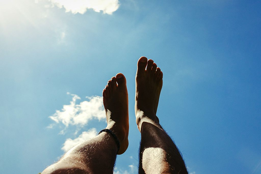patient happy with varicose veins treatment